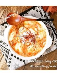 包丁なし!簡単チーズ豆乳スンドゥブ