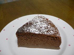 チョコプリンケーキ♪