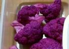 紫カリフラワーの甘酢漬け