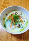 しめじ&キャベツ❀豆乳食べるスープ