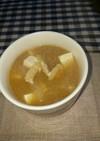 大根と油揚げと豆腐のお味噌汁