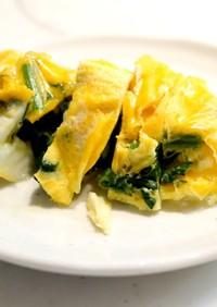 ポリ袋で簡単☆卵焼き