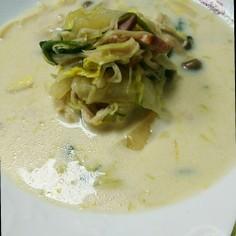 糖質オフ 朝ご飯最適 豆乳野菜スープ