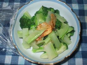 茎ごとブロッコリーサラダ