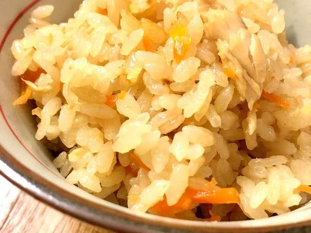 シーチキン の 炊き込み ご飯