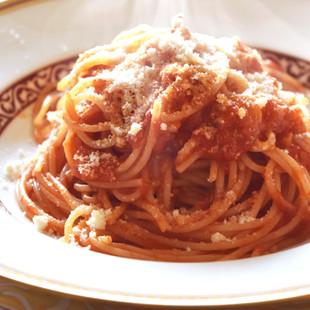 スパゲティーニ アラビアータ