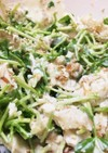 【健康レシピ】豆苗ささ身サラダ(簡単)