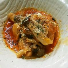 簡単☆鶏肉のケチャップ煮