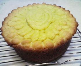 ひまわりのパウンドケーキ