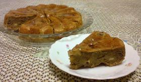 砂糖不使用!栗とバナナの木の実パンケーキ