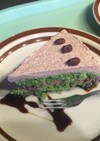 ヨモギあずきケーキ