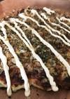 白菜と豆腐のヘルシーお好み焼き