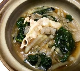 大根主役の大根葉スープ、食べるお汁です☆