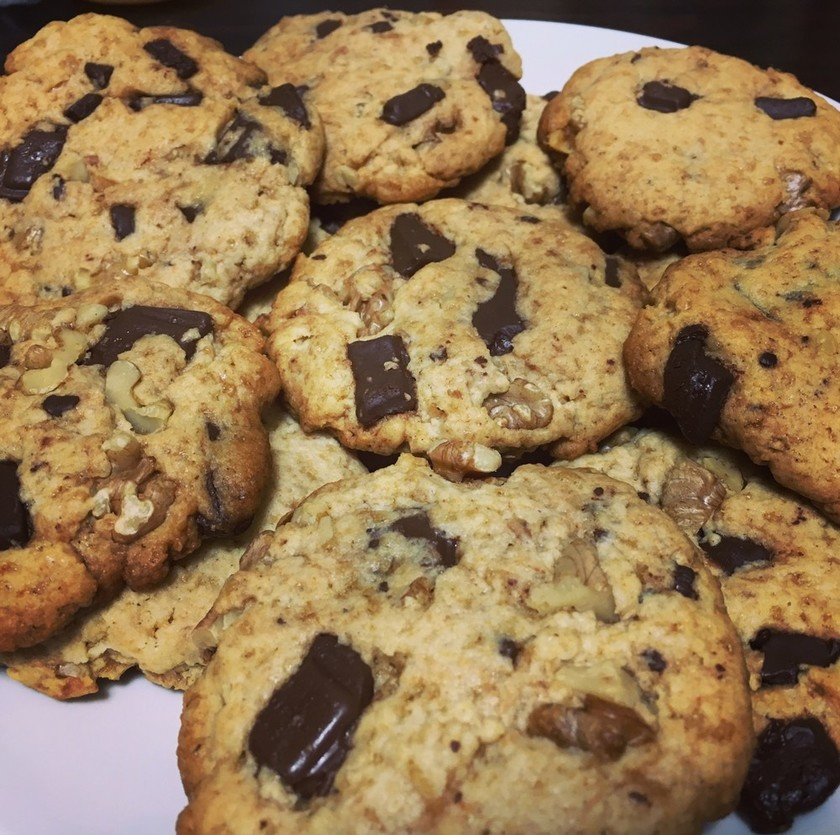 HMで☆チョコナッツチャンククッキー