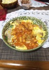 ポークピカタ・白豆とトマト缶煮込み