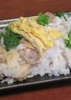 あさりと菜の花と筍のばら寿司