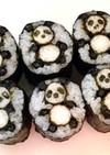 寿司型・模様巻き(長芋でパンダ)