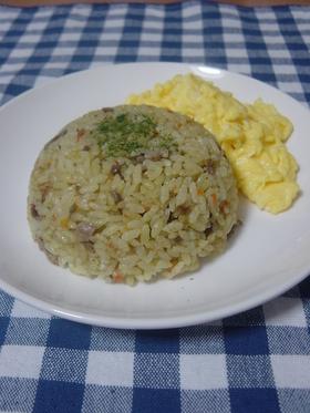 牛肉☆ドライカレーピラフ~炊き込み~