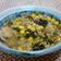 小松菜とアサリとコーンの和風味噌リゾット
