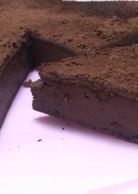 混ぜて焼くだけチョコチーズケーキ