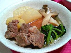 お肉もお野菜もタップリ♪ゴロゴロ煮物