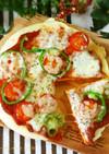 オシャレランチに♥ピザオープンパンケーキ