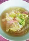 白菜とベーコンのリゾット☆超簡単☆ランチ