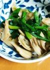 ほうれん草と舞茸の煮浸し(減塩レシピ)