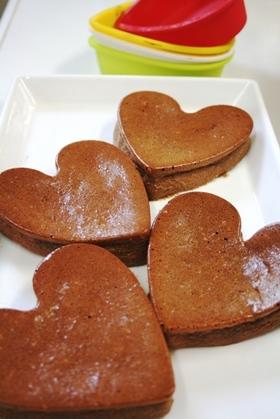 ふわっと愛のチョコケーキ
