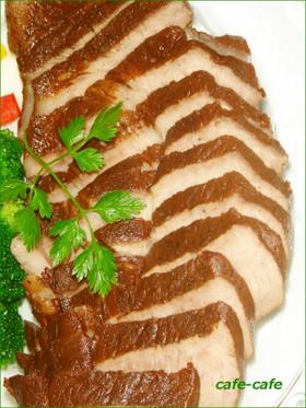 紅茶豚☆茹で豚