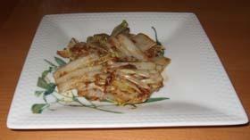 ☆簡単☆おこげが美味しい☆白菜の生姜焼き