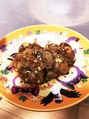 海苔梅チーズ巻き豚串の写真