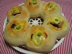 チーズ&ハムのリングパン