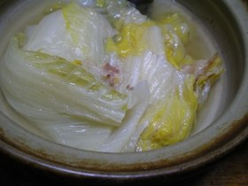 白菜の簡単とろとろ煮