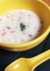 和風だしの優しい癒しのコーンスープ♡