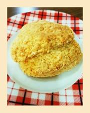 美味しい❗餅とり粉でヘルシーなスコーンの写真