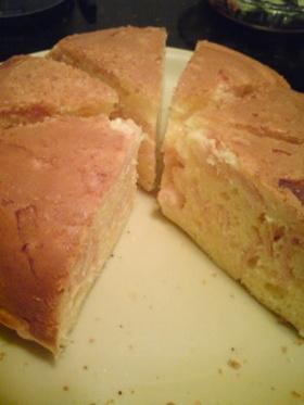 おさかなソーセージチーズケーキ
