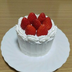 10cm型スポンジケーキ