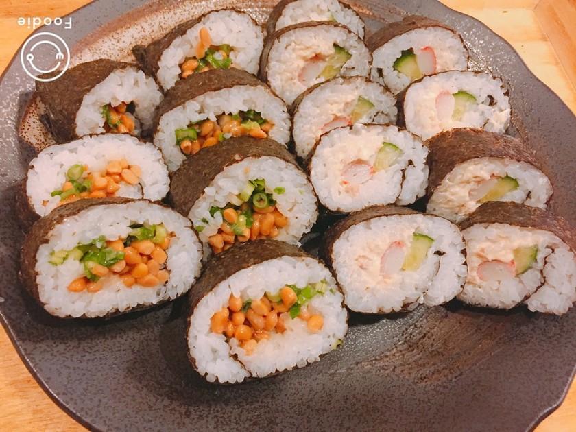 ❄︎簡単❤️恵方巻太巻き寿司の巻き方❄︎
