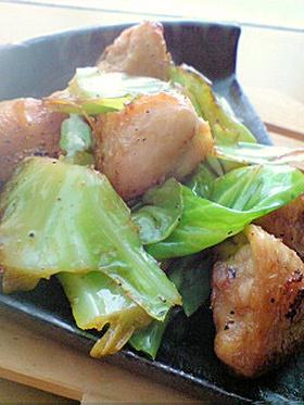 簡単♪鶏肉とキャベツの炒め