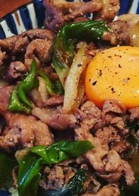 【簡単めんつゆ】スタミナねぎ豚丼