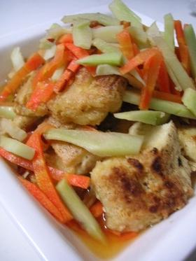 ダイエット&節約に♪凍り豆腐の南蛮漬け