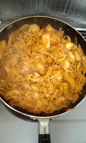 簡単♡おいしい♪大根とキムチの炒め物♥