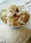 煎り大豆(豆まきの残り豆)塩こんぶご飯