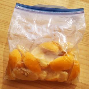レンジ&チャック付保存袋で作る塩レモン