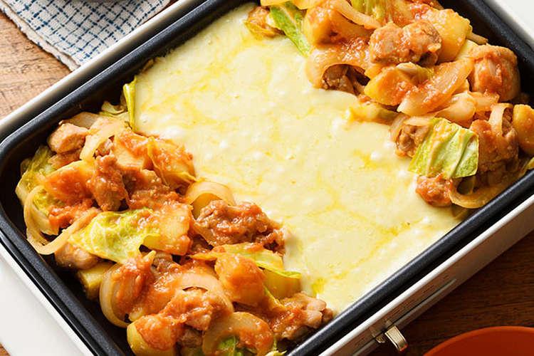 人気 レシピ チーズ タッカルビ