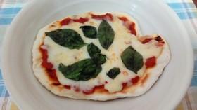 朝から手作りピザ
