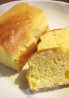 レモンが香るふわふわ米粉パウンドケーキ