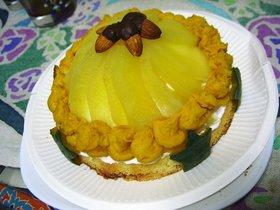 ★かぼちゃとりんごのケーキ★