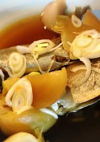 """基本の煮魚""""煮汁多めで味しっかり"""""""